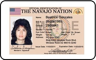 Native Colorado Tribal Notary Americans Springs Id -