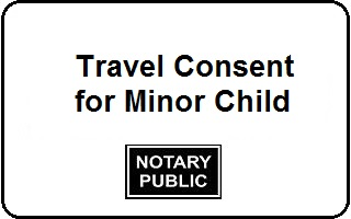 Travel consent for minor child notary colorado springs travel consent minor child notary altavistaventures Images