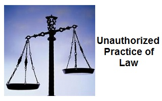 unauthorized practice of law cases